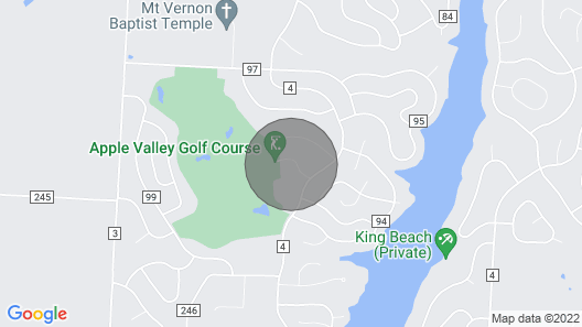Next to Apple Valley Golf Course! Clean, Comfortable, Peaceful! Map