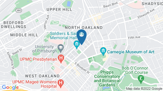 Wyndham Pittsburgh University Center Map