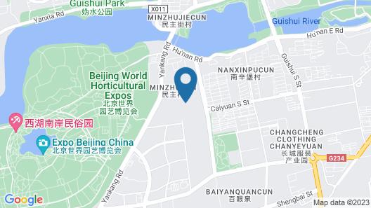 Hyatt Regency Beijing Shiyuan Map