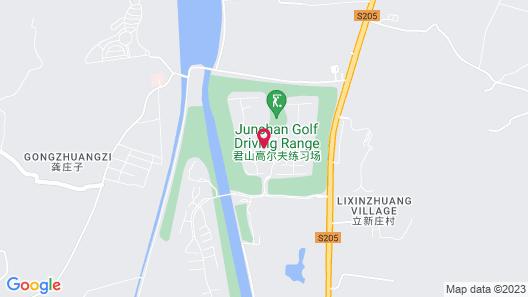 Grand Bay Hotel Beijing Map