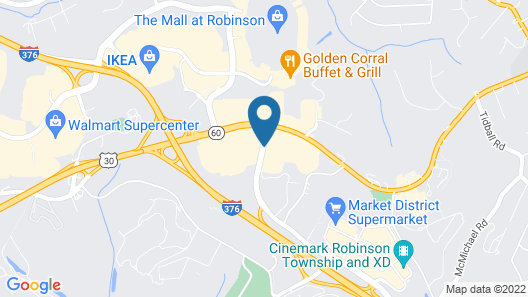 Hyatt Place Pittsburgh Airport Map