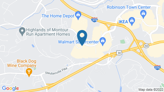 Microtel Inn & Suites by Wyndham Pittsburgh Airport Map