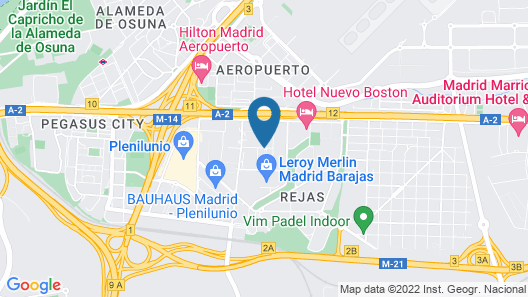 Compostela Suites Apartments Map