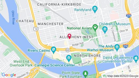 The Parador Inn Map