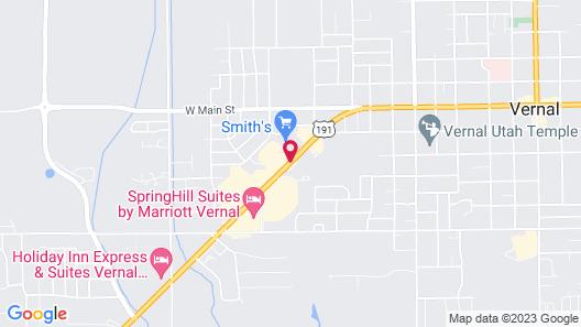 Days Inn by Wyndham Vernal Map