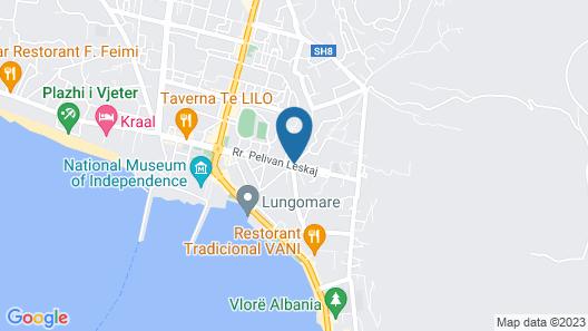 Hotel Salvadore Map