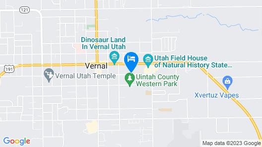 The Landmark Inn & Suites Map