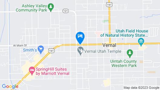Antlers Inn Map