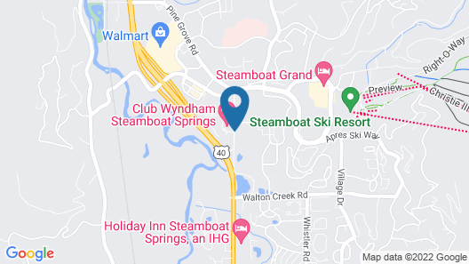 The Village at Steamboat Springs Map
