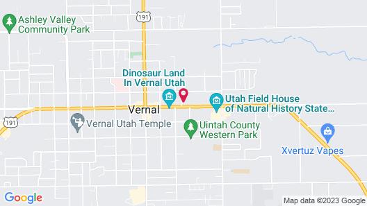Dinosaur Inn & Suites Map