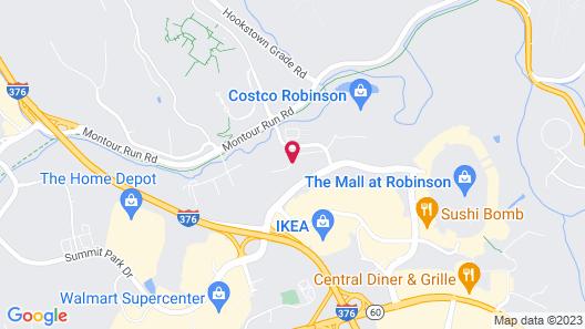 Fairfield Inn & Suites Pittsburgh Airport/Robinson Township Map