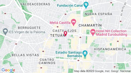 Senator Castellana Hotel Map