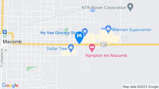 Star Motel Map
