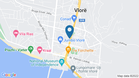 Hotel Rossi Map