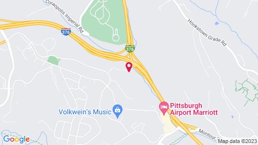 Wyndham Garden Pittsburgh Airport Map