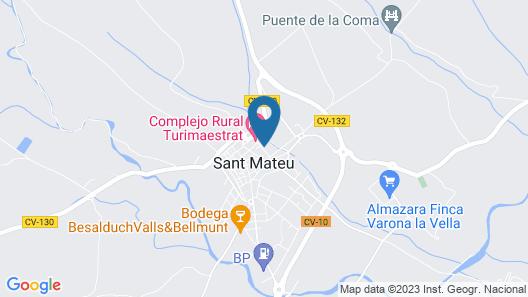 Intibili Sant Matheu Map