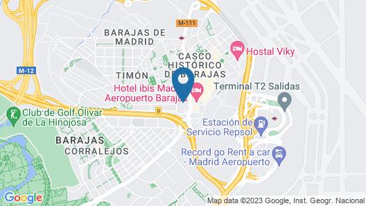 Melia Barajas Map