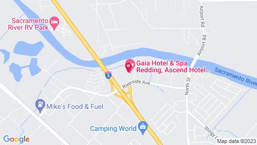 Gaia Hotel & Spa Redding, Ascend Hotel Collection Map