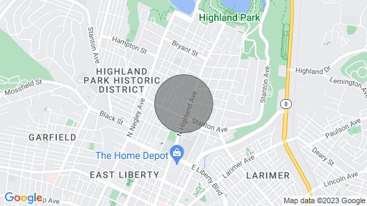 Highland Park Carriage House Map