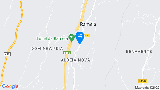 Quinta dos Sinçais - The Best air That you can Breath in Portugal - Room I Map