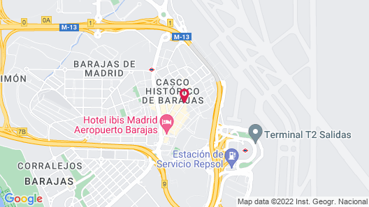 Hotel Don Luis Map