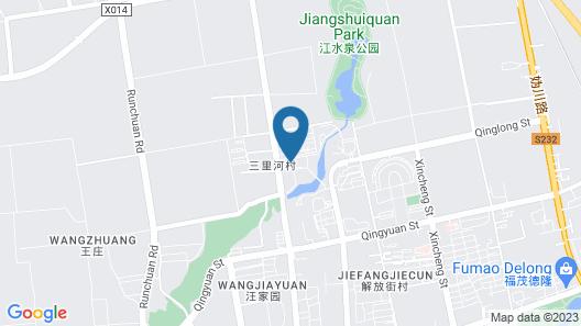 Holiday Inn Express Beijing Badaling, an IHG Hotel Map
