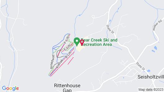 Bear Creek Mountain Resort Map
