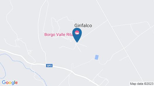 Borgo Valle Rita - Country Resort Map