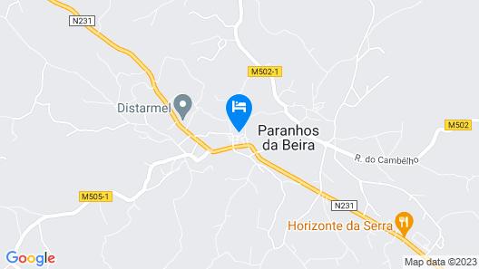 Casa de Santa Ana da Beira Map