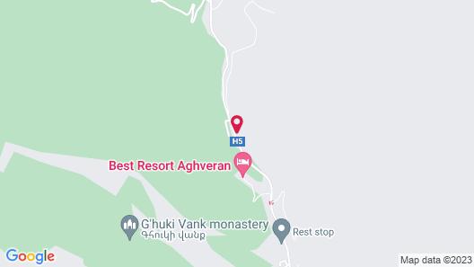 Aghveran Ararat Resort Map
