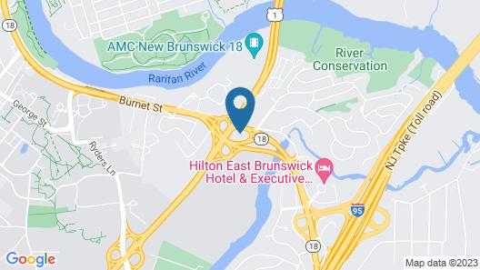 Home2 Suites by Hilton New Brunswick, NJ Map