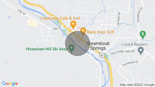 Amazing Location In Downtown Steamboat! -  Residences At Old Town C4 Map