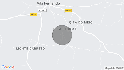 Quinta da Lage - Country Property for 8 People Map
