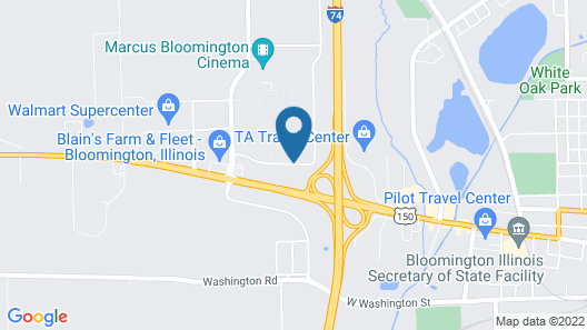 Country Inn & Suites by Radisson, Bloomington-Normal West, IL Map