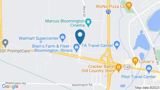 Fairfield Inn & Suites by Marriott Bloomington Map