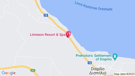 Limneon Resort & Spa Map