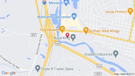 Best Western Dutch Valley Inn Map