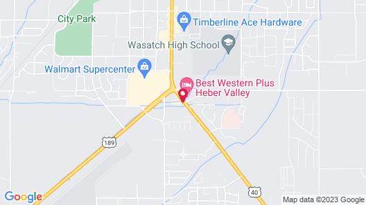 Holiday Inn Express Heber City, an IHG Hotel Map