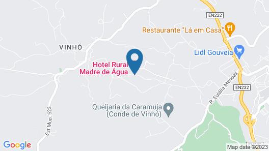 Madre De Água Hotel Rural De Charme Map