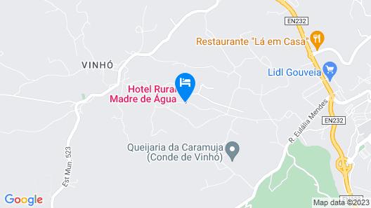 Madre De Água Hotel Rural Map