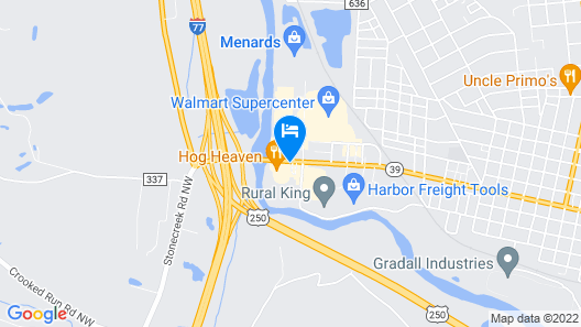Travelodge by Wyndham New Philadelphia Map