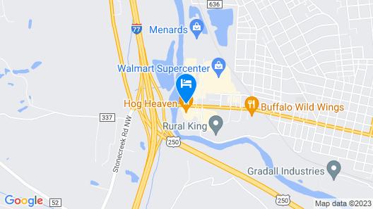 Hampton Inn New Philadelphia Map