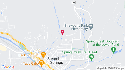 Mariposa Lodge Bed and Breakfast Map