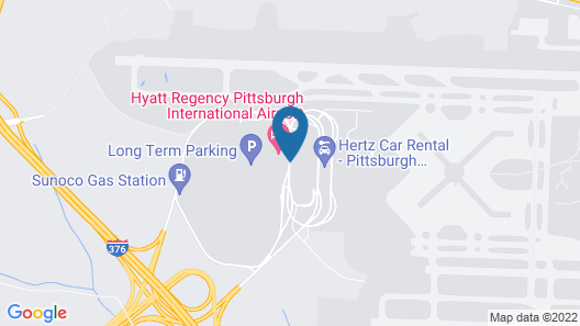 Hyatt Regency Pittsburgh International Airport Map