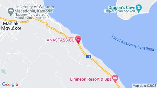 Hotel Anastassiou Map