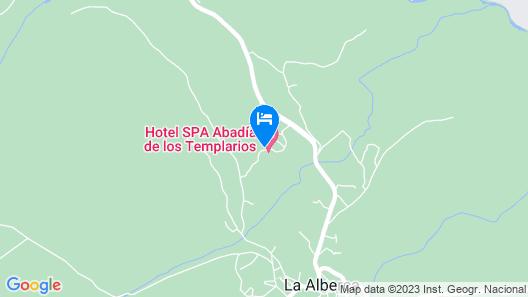 Hotel Termal Abadía de Los Templarios Map