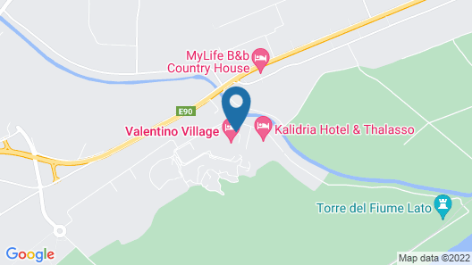 Kalidria Hotel & Thalasso SPA Map