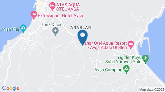 Havin Apart Pansiyon Map