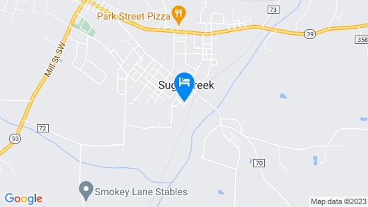 Sugarcreek Village Inn Map