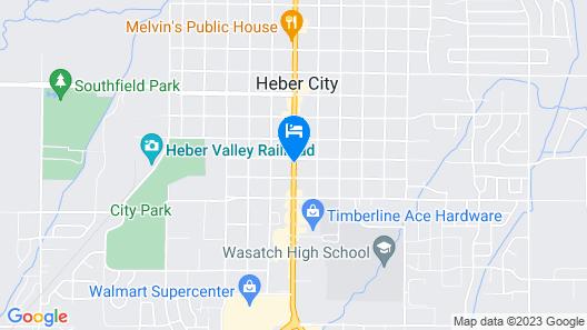 M-Star Hotel Heber City Map